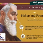 Infographic Luis Amigo - Bishop and Founder